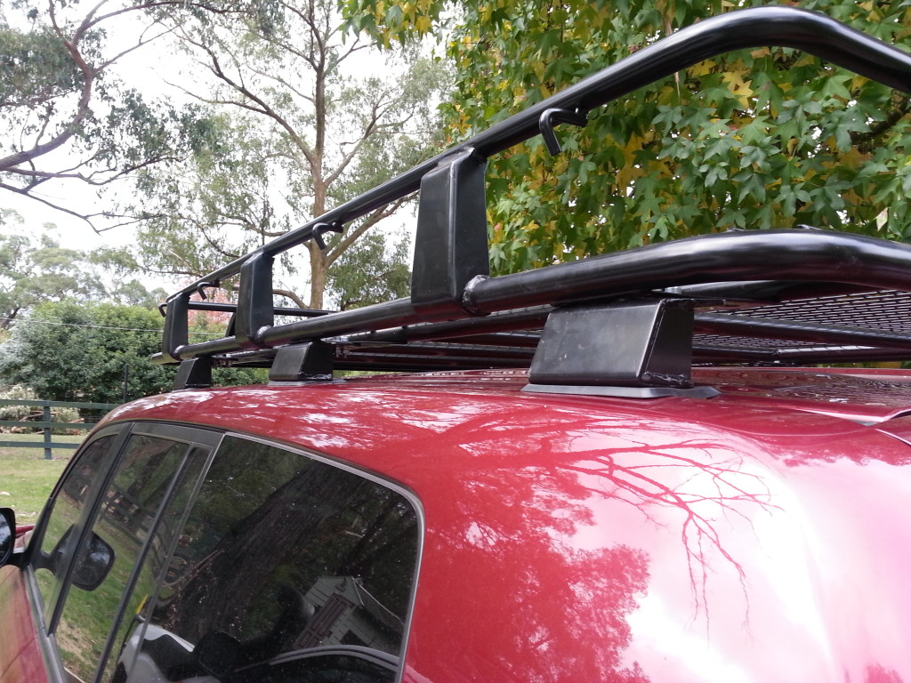 4Wd Supacentre Roof Rack Installation tigerz11 roof rack review - 4x4 fever